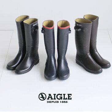 AIGLE エーグル シャンタベル レディース レインブーツ 長靴 ロング丈 8521 CHANTEBELLE JP ラバーブーツ 正規品