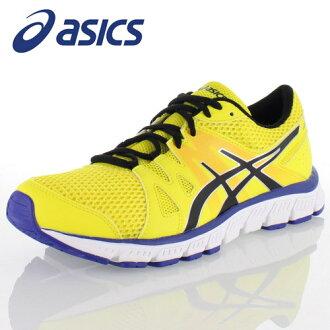 asics亞瑟士TJA135 GEL-UNIFIRE 0490男子的跑步鞋寬度黄色