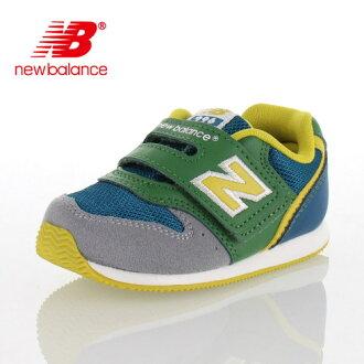 ★20%OFF!★new balance新平衡FS996 AGI 8A-996嬰兒小孩運動鞋尼龍粘鏈穿脫輕鬆綠色