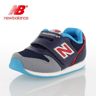 ★20%OFF!★new balance新平衡FS996 DBI 90-996嬰兒小孩運動鞋尼龍粘鏈穿脫輕鬆深藍