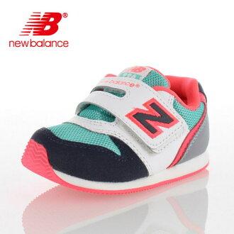 ★20%OFF!★new balance新平衡FS996 DMI GM-996嬰兒小孩運動鞋尼龍粘鏈穿脫輕鬆GRAY/MINT