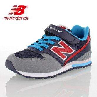 ★小20%OFF!★new balance新平衡KV996 DBY 9C/9 ku-996小孩運動鞋細長深藍