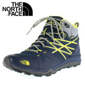 ★20%OFF★ THE NORTH FACE Hedgehog FP Lite Mid GORE-TEX NF01524 BY コズミックブルー×アシッドイエロー メンズ トレッキング シューズ