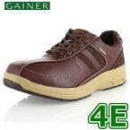 靴 ウォーキングシューズ メンズ GAINER ゲイナー GN012 レッドブラウン スニーカー コンフォートシューズ 4E