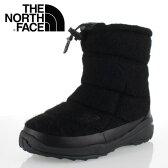 ★20%OFF★ THE NORTH FACE ノースフェイス Nuptse Bootie WP Wool Luxe 2 NF51683 (K) レディース ヌプシ ブーツヌプシ ブーティ ウォータープルーフ ウール ラックス 2 TNFブラック