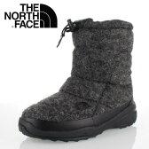 ★20%OFF★ THE NORTH FACE ノースフェイス Nuptse Bootie WP Wool Luxe 2 NF51683 (MG) レディース ヌプシ ブーツヌプシ ブーティ ウォータープルーフ ウール ラックス 2 ミックスグレー
