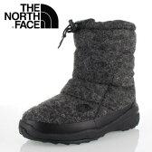★20%OFF★ THE NORTH FACE ノースフェイス Nuptse Bootie WP Wool Luxe 2 NF51683 (MG) メンズ ヌプシ ブーツ ヌプシ ブーティ ウォータープルーフ ウール ラックス 2 ミックスグレー