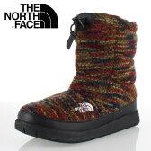 ★20%OFF★ THE NORTH FACE ノースフェイス W Nuptse Bootie Wool 2 Luxe NFW51684 (RM) レディース ヌプシ ブーツ ヌプシ ブーティー ウール 2 ラックス レッドミックス