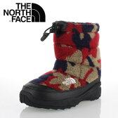 THE NORTH FACE ノースフェイス Nuptse Bootie Wool 2 Luxe NFJ51684 (RC) キッズ ヌプシ ブーツ ヌプシ ブーティー ウール 2 ラックス レッドカモ セール
