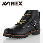 アビレックス AVIREX TIGER AV2931 BLACK ライダーブーツ バイカーブーツ ブーツ メンズ