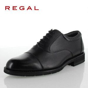 リーガル REGAL 靴 メンズ ビジネスシューズ 32NRBB ブラック ストレートチップ 内羽根式 紳士靴 日本製 3E 本革 防水