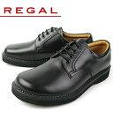 リーガル REGAL 靴 メンズ ビジネスシューズ JJ23 AG ブラック プレーントゥ オブリークトゥ 外羽根式 紳士靴 日本製 3E 本革 特典B