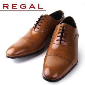 リーガル シューズ メンズ ストレートチップ REGAL 011R AL ブラウン 紳士靴 送料無料