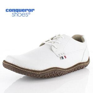 コンカラー シューズ クレスト ロー 371 WHITE conqueror CREST LOW メンズ スニーカー 靴 ホワイト