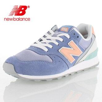 new balance新平衡WR996 JG女士運動鞋休閒藍色柳丁5 o-996
