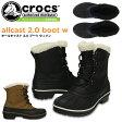 クロックス オールキャスト 2.0 ブーツ ウィメン crocs allcast 2.0 boot w 203430 レディース 防水