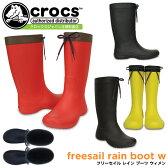 クロックス フリーセイル レイン ブーツ ウィメン crocs freesail rain boot w 203541 レディース 防水 セール