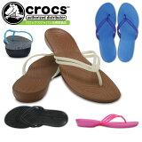 crocs クロックス isabella flip w イザベラ フリップ 204004 レディース サンダル ブラック 黒 ホワイト 白 ブラウン ブルー ネイビー ピンク セール