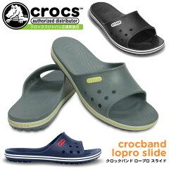 クロックス クロックバンド ロープロ スライド crocs crocband lopro sl…