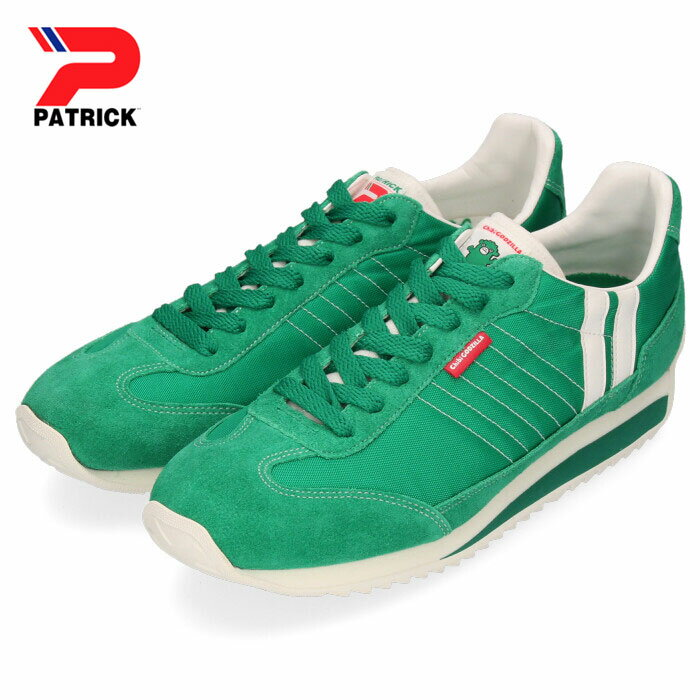 パトリック スニーカー ちびゴジラ マラソン PATRICK MARATHON ちびゴジラ-M GRN 719508 グリーン メンズ レディース 靴 日本製画像