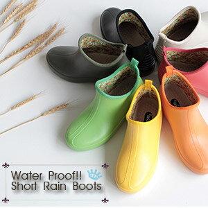 レディース レインブーツ ショートブーツ f-3 長靴 ガーデニング 防水 靴 フューチャーブーツ ラバーブーツ 日本製