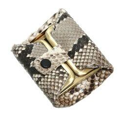 財布 小銭入れ 本革 蛇革 パイソン ニシキヘビ 日本製