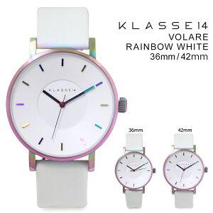クラス14メンズKLASSE1442mm36mmレディース腕時計VOLARERAINBOWWHITEヴォラーレVO16TI003MVO16TI003W
