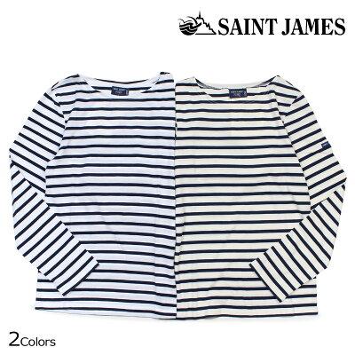 セントジェームスのバスクシャツ