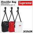 シュプリーム Supreme バッグ ショルダーバッグ メンズ レディース 1L 100D Cordura laminated ripstop nylon Soulder Bag ブラック ホワイト レッド [予約商品 9/25頃入荷予定 新入荷]