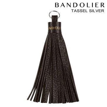 BANDOLIER TASSEL SILVER バンドリヤー iPhone タッセル チャーム アクセサリー キーホルダー メンズ レディース レザー ブラック