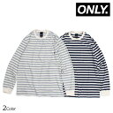 ONLY NY NAUTICAL STRIPE LS POCKET T...