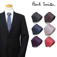 【最大600円OFFクーポン】 Paul Smith ポールスミス ネクタイ メンズ シルク イタリア製 ビジネス 結婚式
