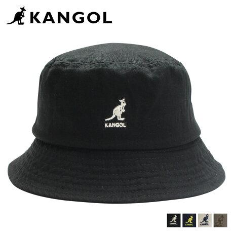 KANGOL WASHED BUCKET カンゴール ハット キャップ 帽子 バケットハット メンズ レディース ブラック ネイビー ベージュ オリーブ 黒 100169215 [7/3 追加入荷]