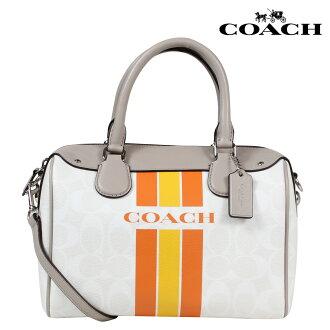 COACH教練包挎包小波士頓F38401粉筆×柳丁女士
