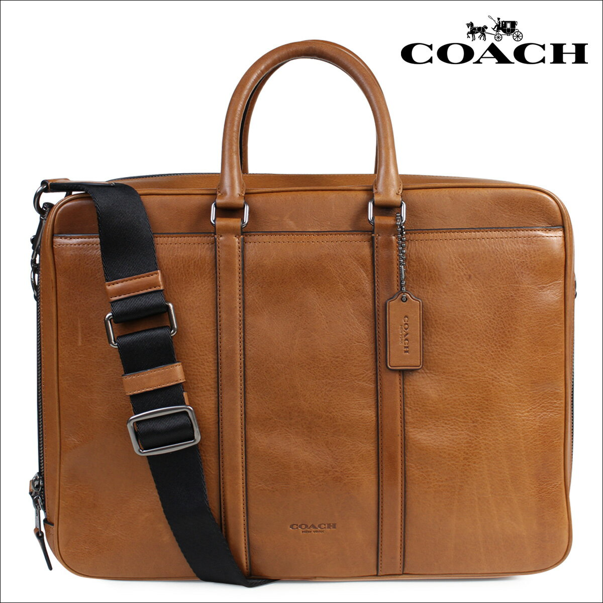 [SOLD OUT] コーチ COACH バッグ ビジネスバッグ メンズ ブリーフケース レザー  F71733 サドル:Whats up Sports