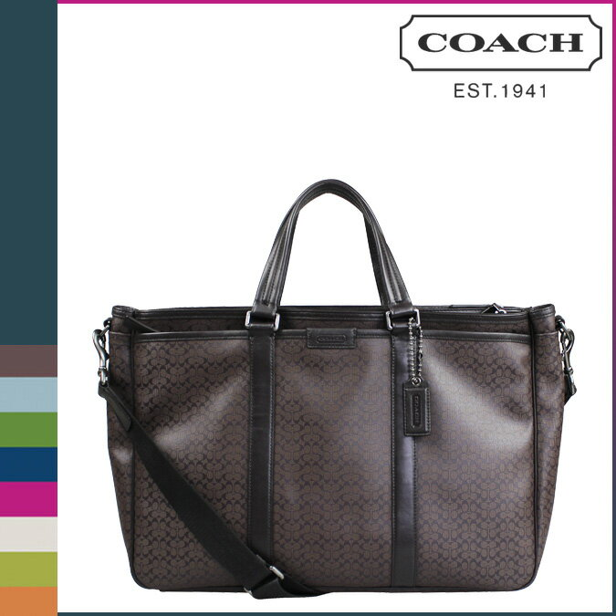 [SOLD OUT] COACH コーチ メンズ トートバッグ F70936 マホガニー  HPC メトロ:Whats up Sports