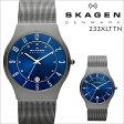 スカーゲン SKAGEN 腕時計 メンズ レディース 時計 防水 233XLTTN グレー [ あす楽対象外 ]