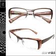 alain mikli アランミクリ メガネ 眼鏡 ブラウン A0635 12 セルフレーム サングラス メンズ レディース