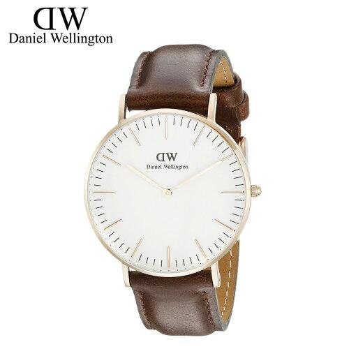 [SOLD OUT] ダニエル ウェリントン Daniel Wellington 腕時計 40ミリ CLASSIC CARDIFF ローズゴー...