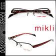 alain mikli アランミクリ メガネ 眼鏡 ブラック レッド ML1104 0001 メタルフレーム alain mikli サングラス メンズ レディース