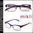 alain mikli アランミクリ メガネ 眼鏡 ブルー レッド ML1107 0024 メタルフレーム alain mikli サングラス メンズ レディース
