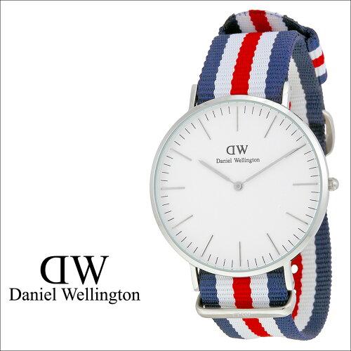 Daniel Wellington ダニエルウェリントン 36mm 腕時計 レディース CLASSIC CANTERBURY LADY シルバ...