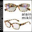 alain mikli アランミクリ メガネ 眼鏡 セルフレーム AL1123-3034 マルチカラー メンズ レディース