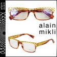 alain mikli アランミクリ メガネ 眼鏡 セルフレーム AL1251-G02G ゴールド タートイズ メンズ レディース