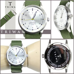 送料無料トリワTRIWA腕時計メンズレディースLAST102MO01261235mmウォッチ時計アーミーグリーンSTERLINGLANSENNATOユニセックス[1/9新入荷][正規]★★