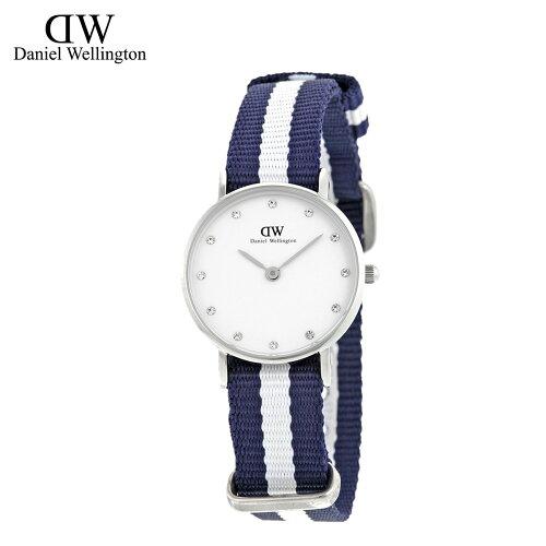 Daniel Wellington ダニエルウェリントン 26mm 腕時計 レディース 0928DW CLASSY GLASGOW シルバー