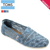 TOMS SHOES トムズ シューズ スリッポン CROCHET WOMEN'S CLASSICS トムス トムズ シューズ
