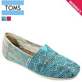 TOMS SHOES トムズ シューズ スリッポン DIP-DYED WOMEN'S CROCHET CLASSICS トムス トムズ シューズ
