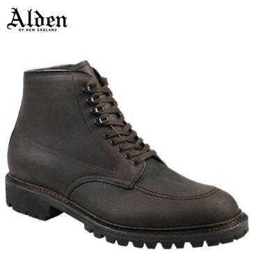 ALDEN KUDU INDY BOOT HIGH TOP BLUCHER オールデン インディー ブーツ メンズ Dワイズ 404