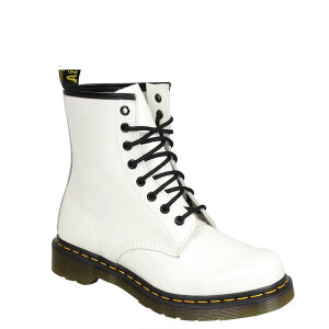 BACK TO BASIC 1460Z 8EYE BOOT White Patent Lamper 11821104